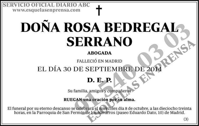 Rosa Bedregal Serrano
